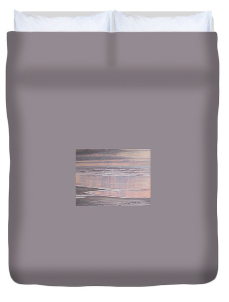 Oil On Canvas Duvet Cover