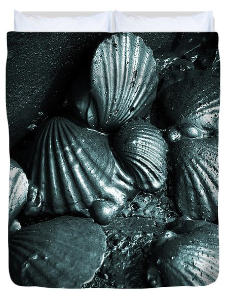 Oil Spill Duvet Cover by Carlos Caetano