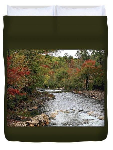 Ok Fishing Duvet Cover