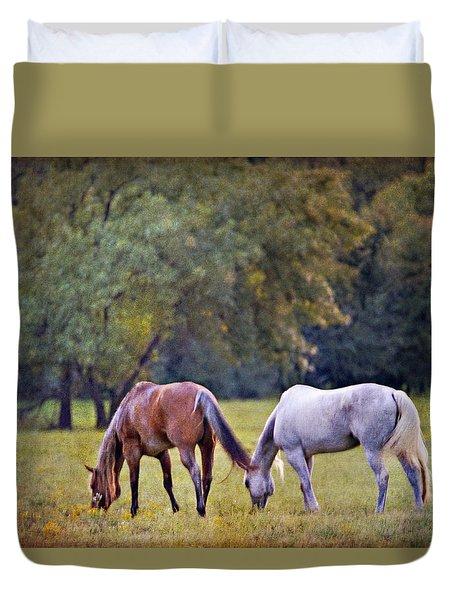 Ok Horse Ranch_2a Duvet Cover