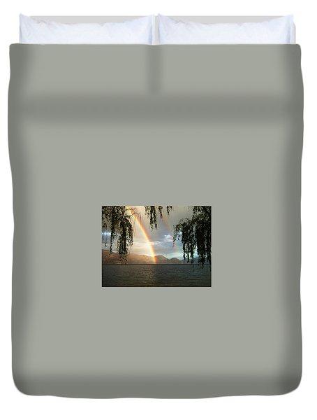 Okanagan Rainbow Duvet Cover