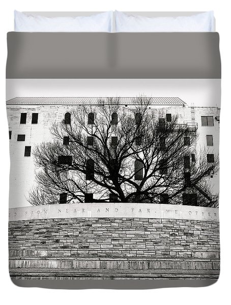 Oklahoma City Memorial 5 Duvet Cover