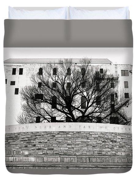 Oklahoma City Memorial 5 Duvet Cover