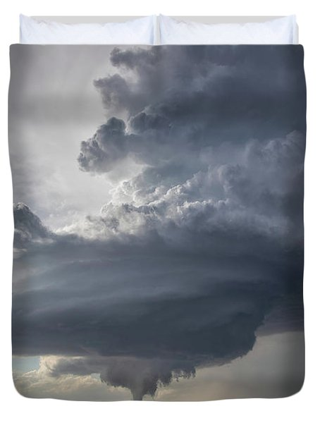 Oklahoma Panhandle Swirl Duvet Cover