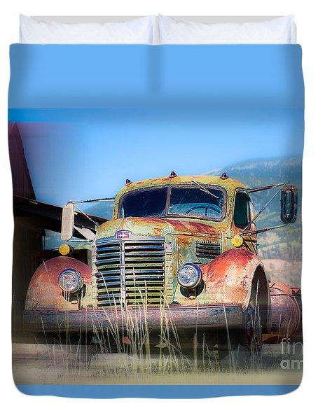 Ol' 48 Duvet Cover