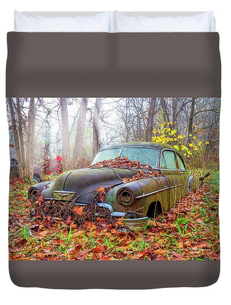 Ol' 49 Chevy Coupe Duvet Cover