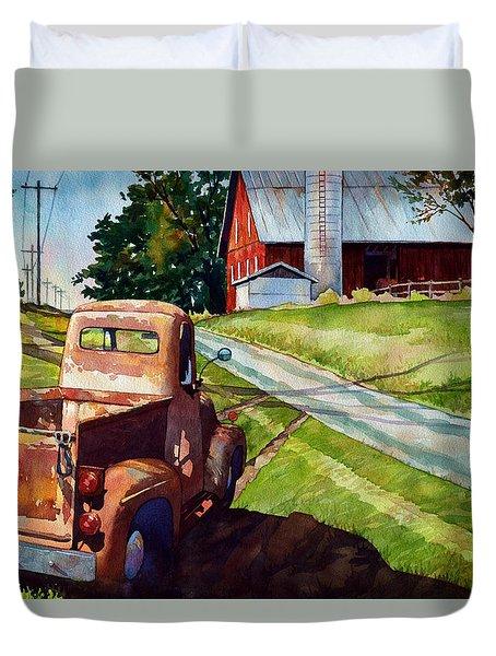 Ol '54 Duvet Cover