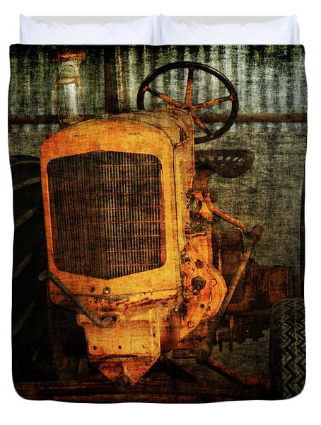 Ol Yeller Duvet Cover by Ernie Echols