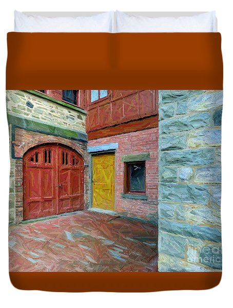 Olana Castle  Duvet Cover
