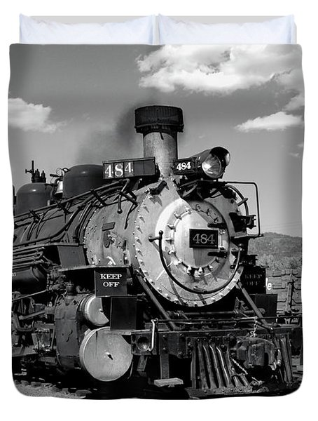 Duvet Cover featuring the photograph Old 484 I by Ron Cline