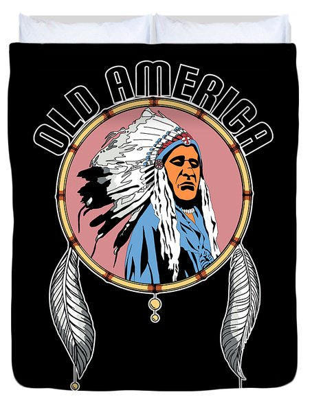 Old Amercia Duvet Cover
