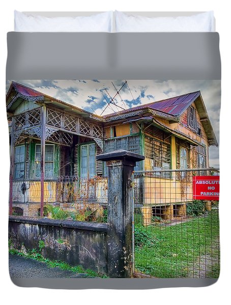 Old And Alive Duvet Cover