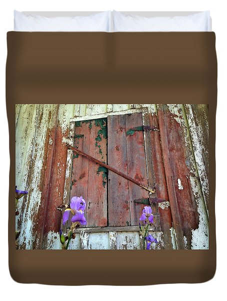 Old And New Duvet Cover by Olivier Calas