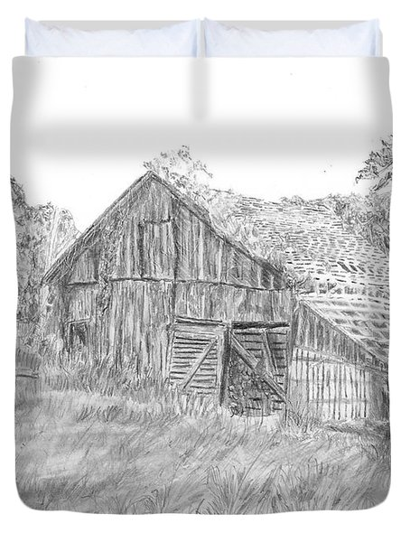 Old Barn 3 Duvet Cover by Barry Jones