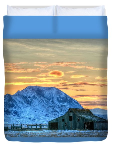 Old Barn Duvet Cover
