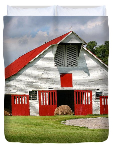 Old Barn Duvet Cover by Kristin Elmquist