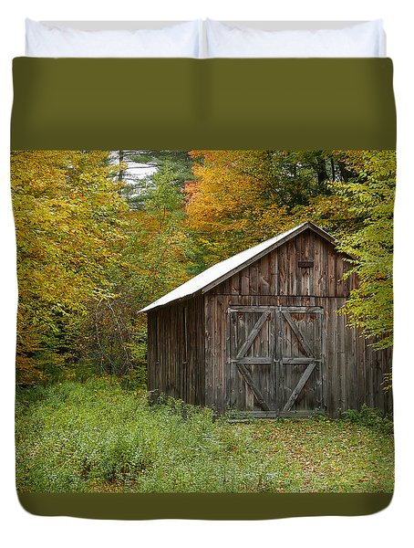 Old Barn New England Duvet Cover