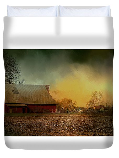 Old Barn With Charm Duvet Cover