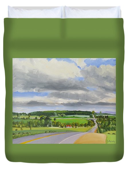 Old Barrie Road Duvet Cover