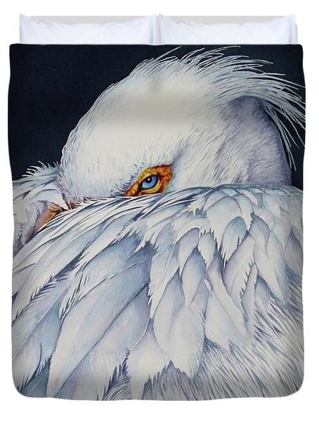 Old Blue Eyes Duvet Cover
