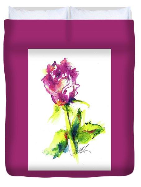 Old Blush - Rose Duvet Cover