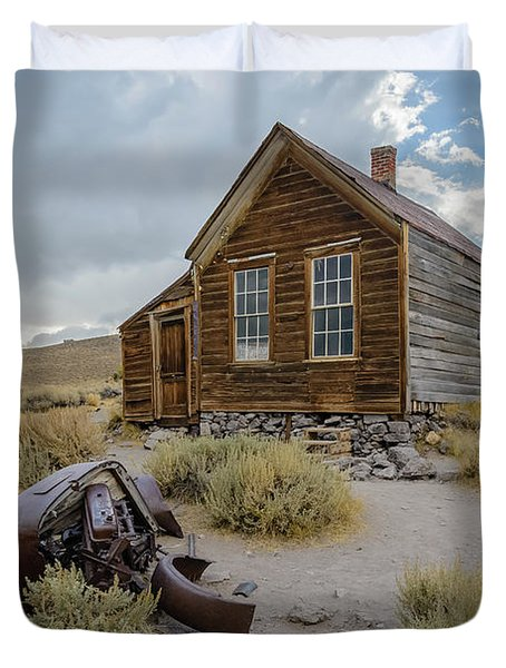 Old Bodie House II Duvet Cover