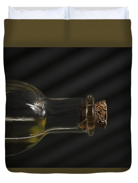 Old Bottle Cork 1092 Duvet Cover
