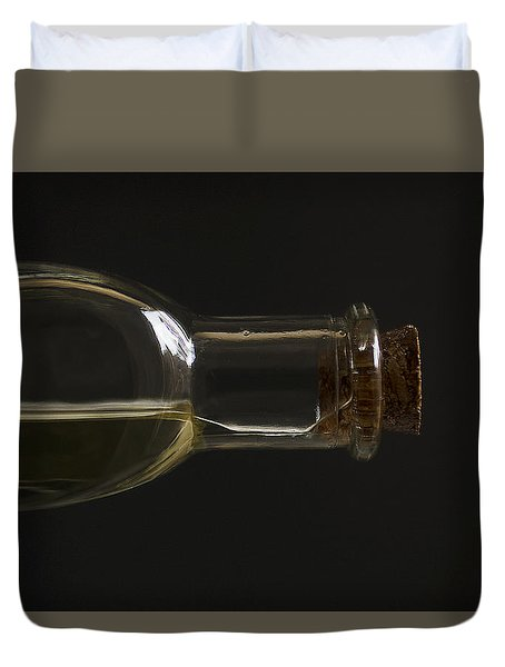 Old Bottle Cork 1194 Duvet Cover