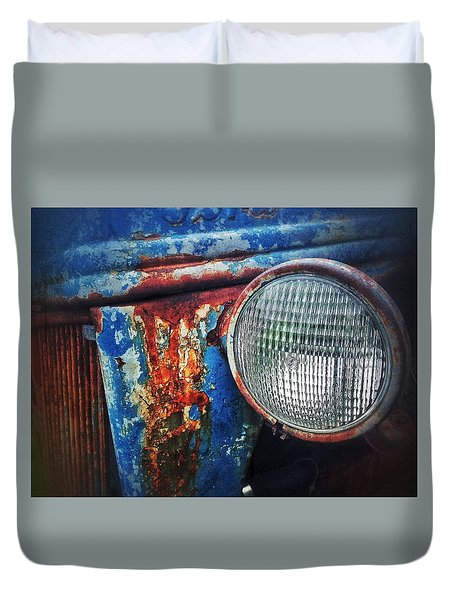 Old Boy Duvet Cover by Olivier Calas
