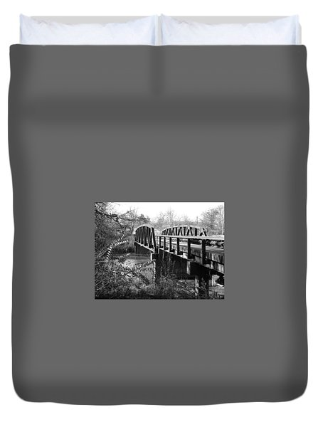 Old Bridge Duvet Cover