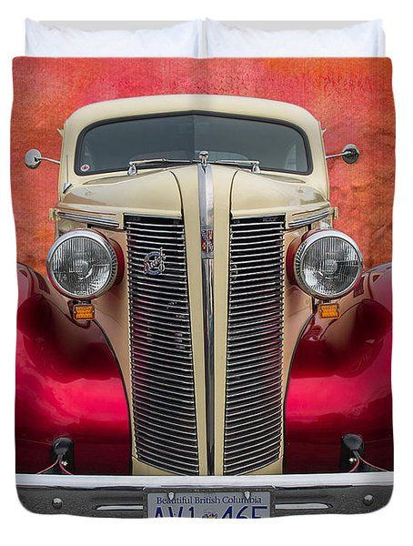 Old Buick Duvet Cover