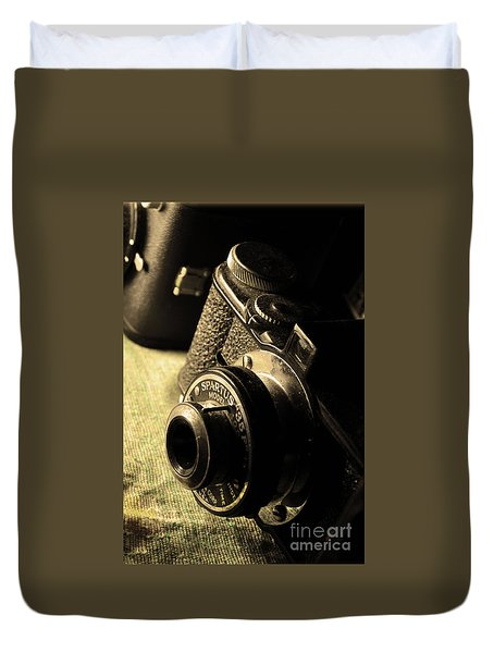 Old Camera 1 Duvet Cover