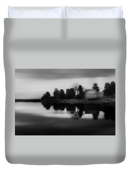 Duvet Cover featuring the photograph Old Cape Cod by Bill Wakeley