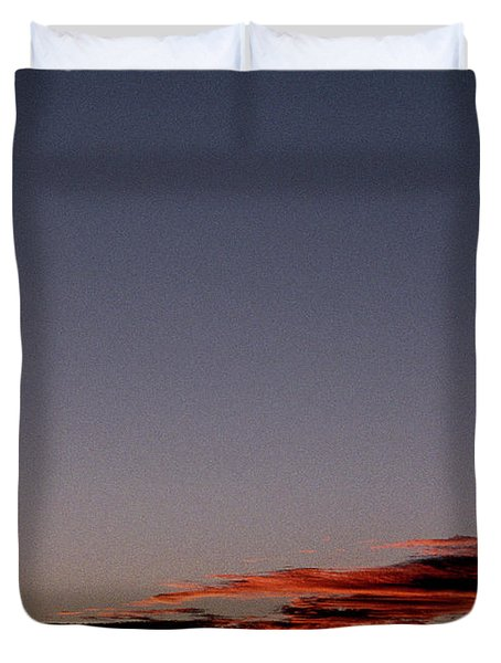 Old Cape Henry Sunrise Duvet Cover