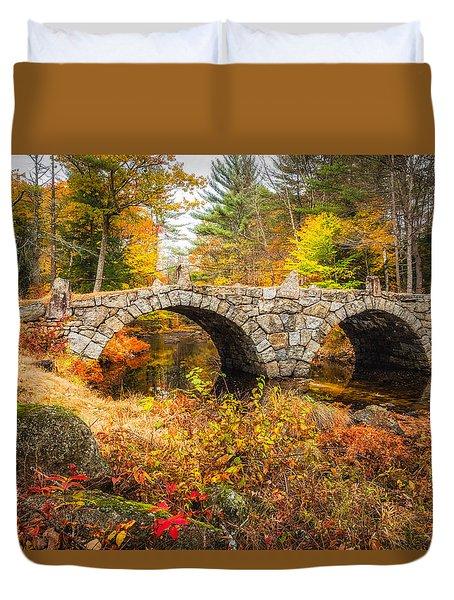 Old Carr Bridge Duvet Cover