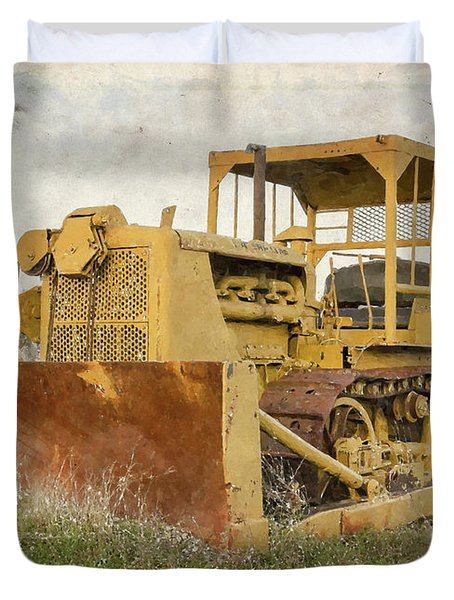 Old Cat Watercolor IIi Duvet Cover