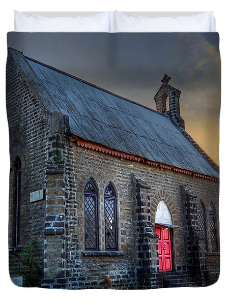 Old Church Duvet Cover by Charuhas Images