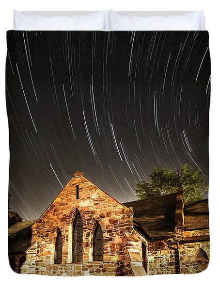 Old Church Duvet Cover