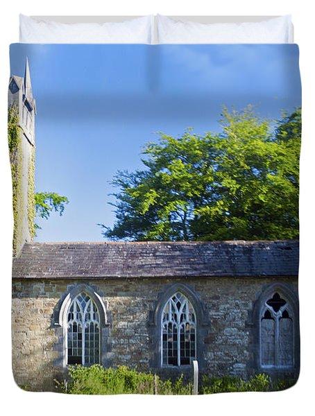 Old Church Ireland Day 8 Duvet Cover