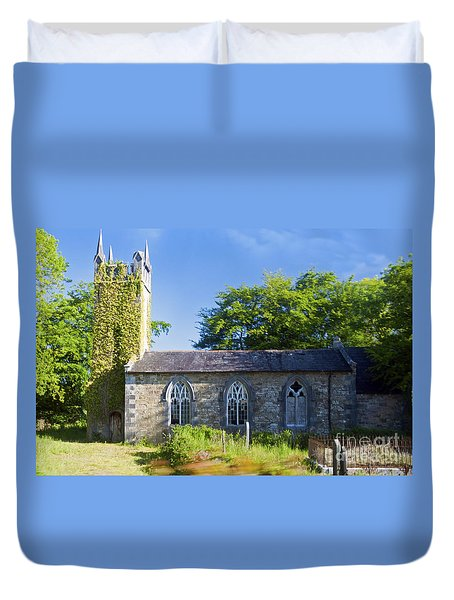 Old Church Ireland Day 8 Duvet Cover