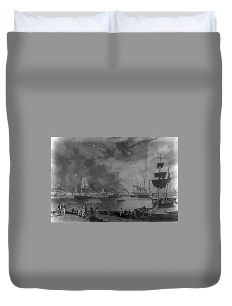 Old City Duvet Cover