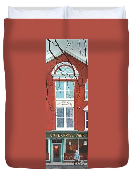 Old City Hall Duvet Cover