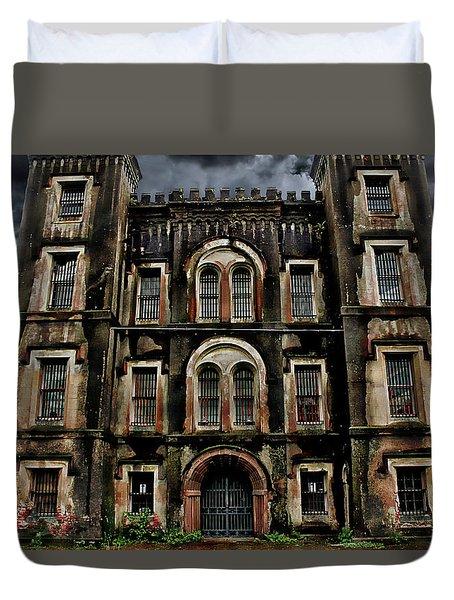 Old City Jail Duvet Cover