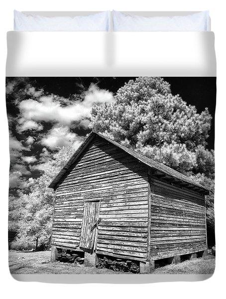 Old Corn Barn Duvet Cover