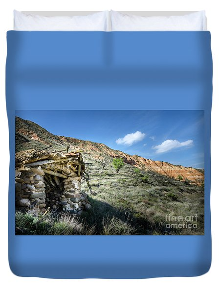 Old Country Hovel Duvet Cover by RicardMN Photography