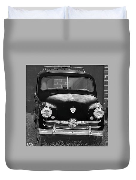 Old Crosley Motor Car Duvet Cover