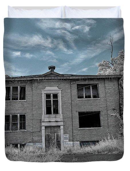 Old Edmonton High School Ir 2 Duvet Cover