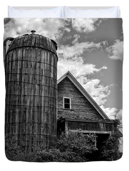 Old Ely Vermont Barn Duvet Cover