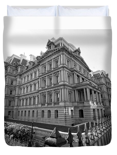Old Executive Office Building Duvet Cover