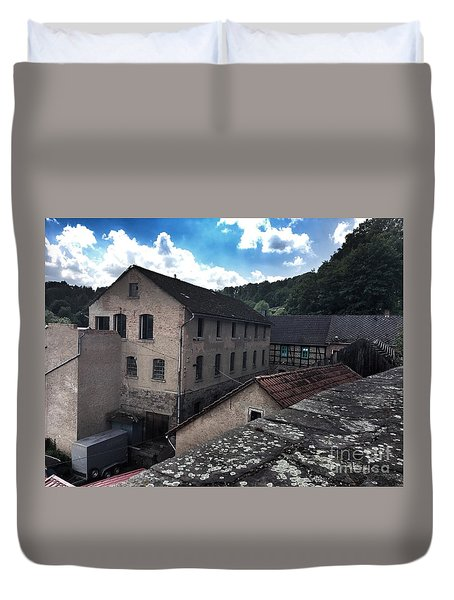 Old Factory  Duvet Cover